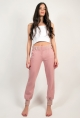 Pantaloni jogger 7/8 in french terry